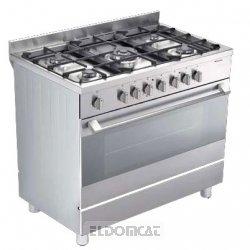 bompani bo683abn cucina a gas forno elettrico