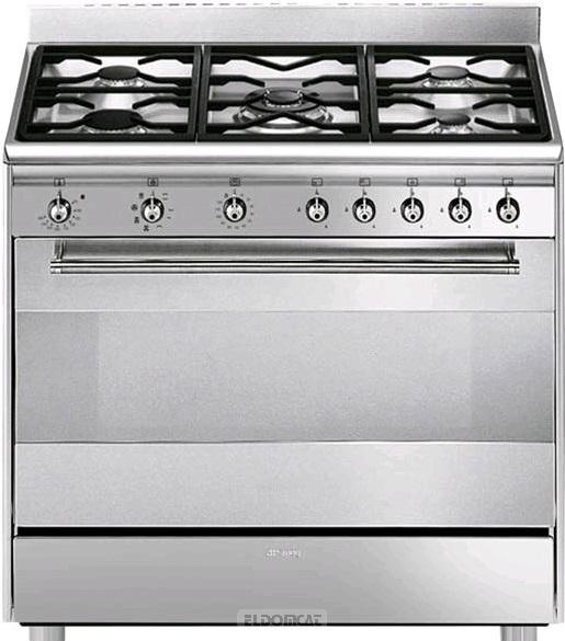 smeg sx91mf-2 cucina - Cucine Smeg 5 Fuochi