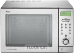 Aeg mcc247 forno a microonde - Forno combinato microonde e tradizionale ...
